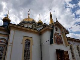 Süße Kirche in Novosibirsk