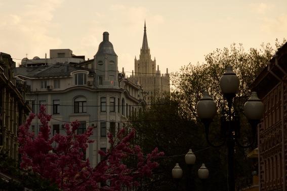 Ul Arbat. Moskaus berühmteste Straße