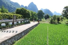 Fahrradtour entlang des Yulong River