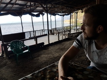 Lunch am Lake Toba