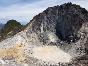 Krater Mount Sibayak