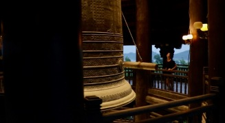 36 Tonnen wiegt diese Glocke bei Chua Bai Dinh