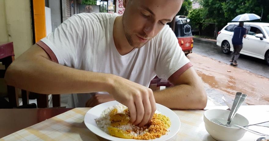 essen mit der hand