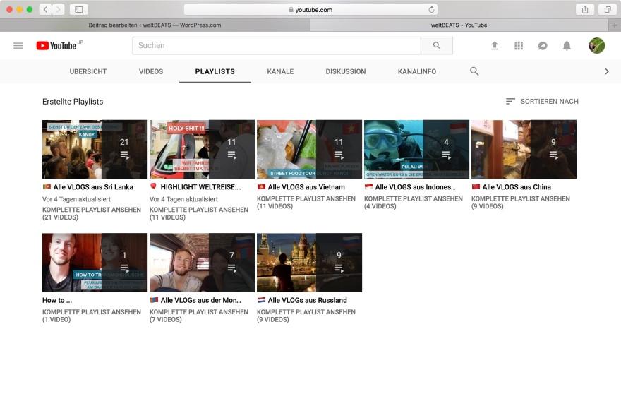 fenster youtube