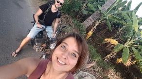 Auch Hampi - wir lieben unser Moped!