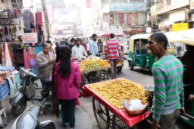 Verkehrschaos in Delhi