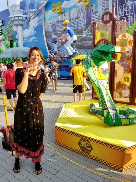 Anke ist übrigens eine Schlange im chinesischen Kalender