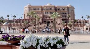 Emirates Palace in Abu Dhabi, eines der luxuriösesten Hotels der Welt