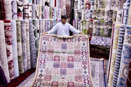 Teppich-Souk in Abu Dhabi
