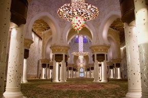 Gebetsraum in der Sheikh Zayed Moschee, Abu Dhabi