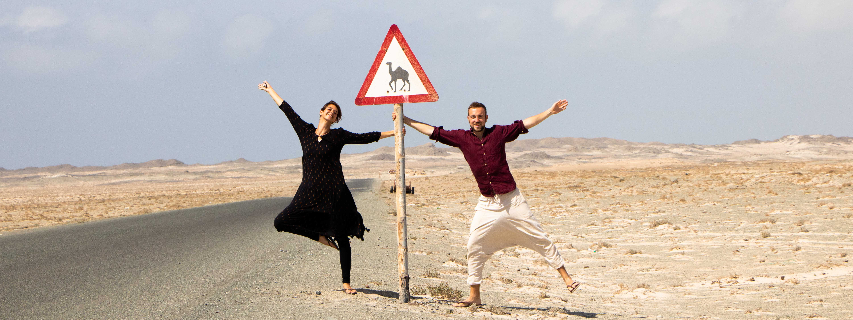 Camping-Roadtrip durch den Oman @weltbeats